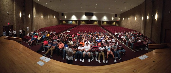 Class of 2020 First Day of School Meeting