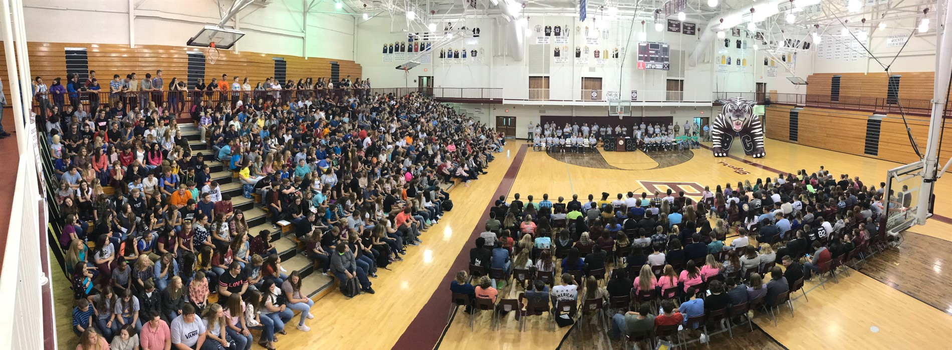 First Day of School Pep Rally